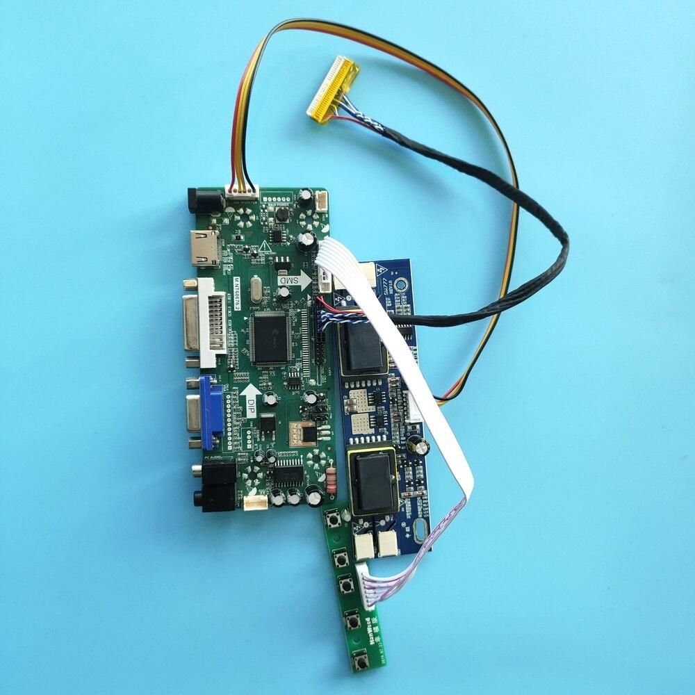 ل LTM190E4-L01/LTM190E4-L04/LTM190E4-L31 LCD الصوت 30pin مجلس سائق لوحة 4 مصابيح تحكم مجلس 1280x1024 HDMI + DVI + VGA