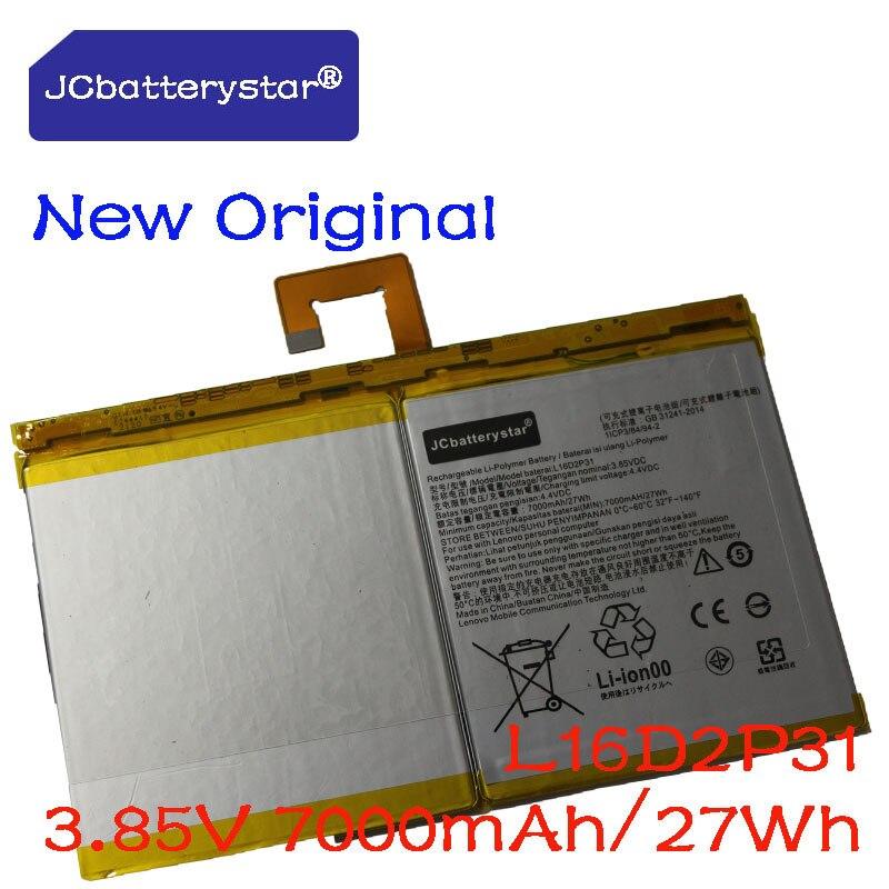 جديد الأصلي 7000mAh بطارية L16D2P31 لينوفو تبويب 4 10 / 10 REL / 10 زائد TB-X304L X304F TB-X704F X704L X504F X504L Batteria