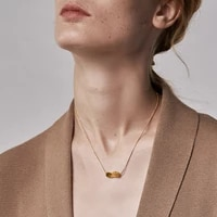 enfashion curved twist pendant necklace women 2020 gold color stainless steel geometric necklaces gifts fashion jewelry p203130