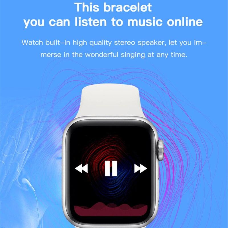 Smart Watch Men Women NEW X6 Full Touch Smart Band Bluetooth Call Message Reminder Smartwatch Health Tracker Sport Wristband enlarge