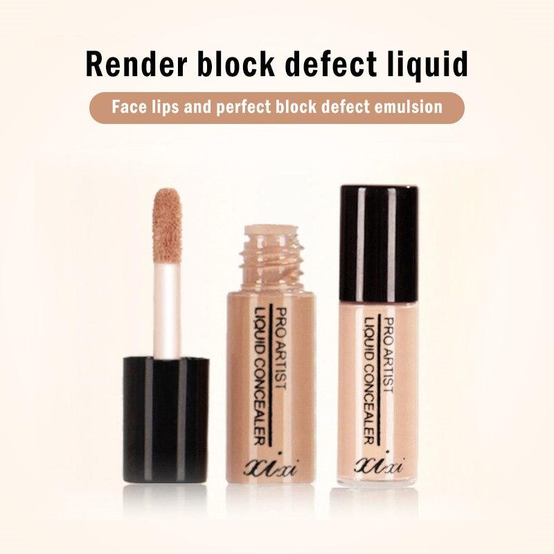 1 Uds maquillaje profesional Corrector de ojos ojeras crema Corrector de cara Base de maquillaje cosmético impermeable