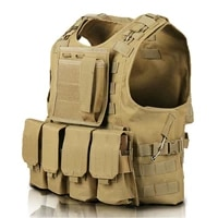 tactical vest military airsoft assault molle vests equipment outdoor clothing hunting camouflage vest combat waistcoat
