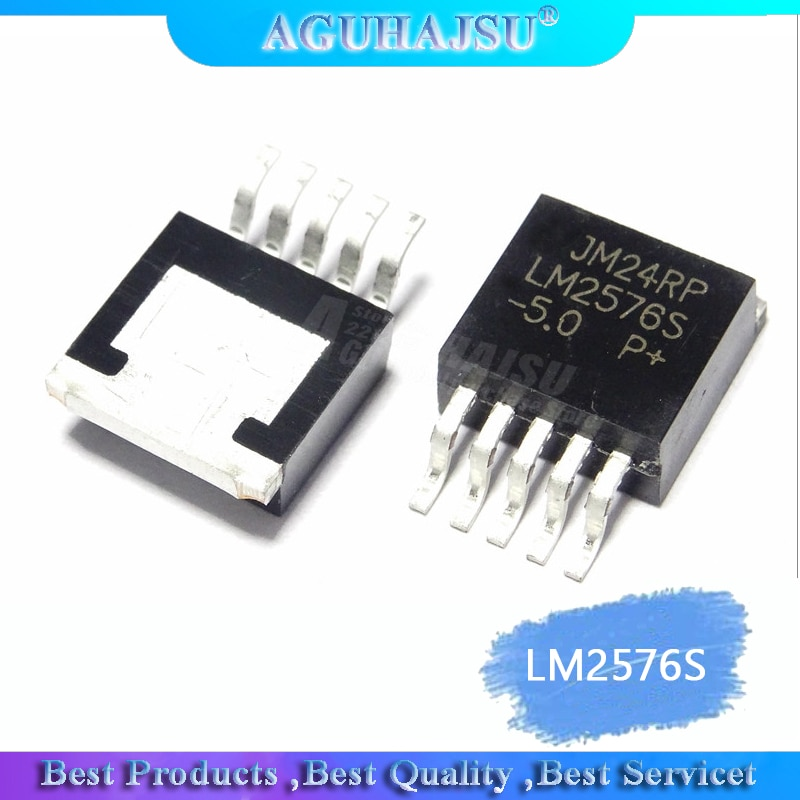 10 teile/los 5V DC DC konverter 3 LM2576S-5,0 LM2576SX-5,0 LM2576S LM2576 TO263
