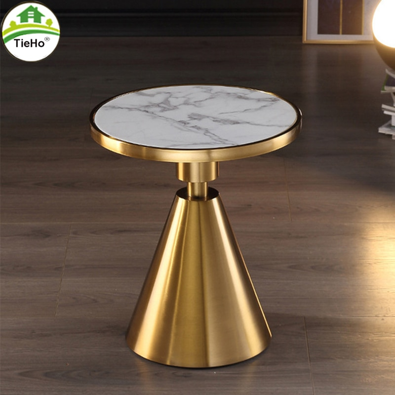 flash furniture 24 x 42 rectangular black laminate table top with 22 x 30 table height base TieHo Coffee Table Side Table For Sofa Bed Corner Living Room Furniture Stainless Steel Base Marble Top Round Table