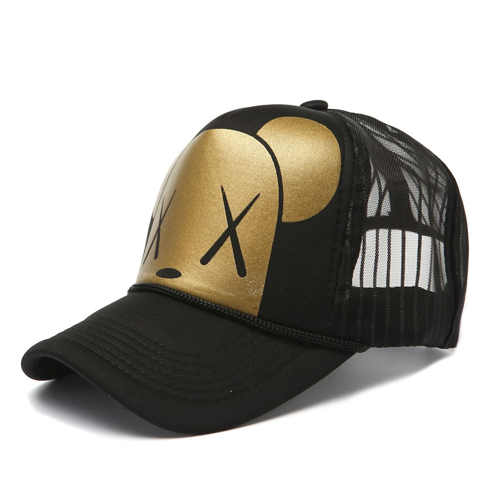 AliExpress - Unisex Mesh Baseball Cap Pentagram Print Summer Breathable Sports Hats For Men Women Snapback Curved Hats Hip Hop Caps Dad Hat