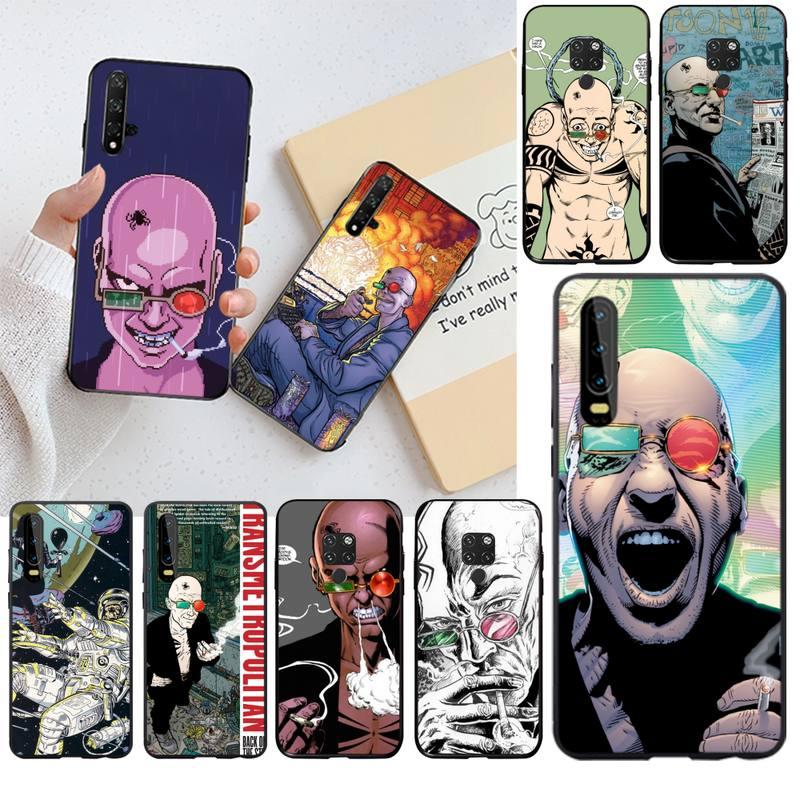 Ir a jugar Comics Transmetropolitan cubierta de la caja del teléfono de Shell para Huawei P40 P30 P20 lite Pro amigo 20 Pro P inteligente 2019