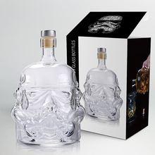 650ml verre à vin bottleStar Wars blanc soldat cruche Storm Trooper esprit vide cristal verre à vin bouteille verre tasse maison barre outils