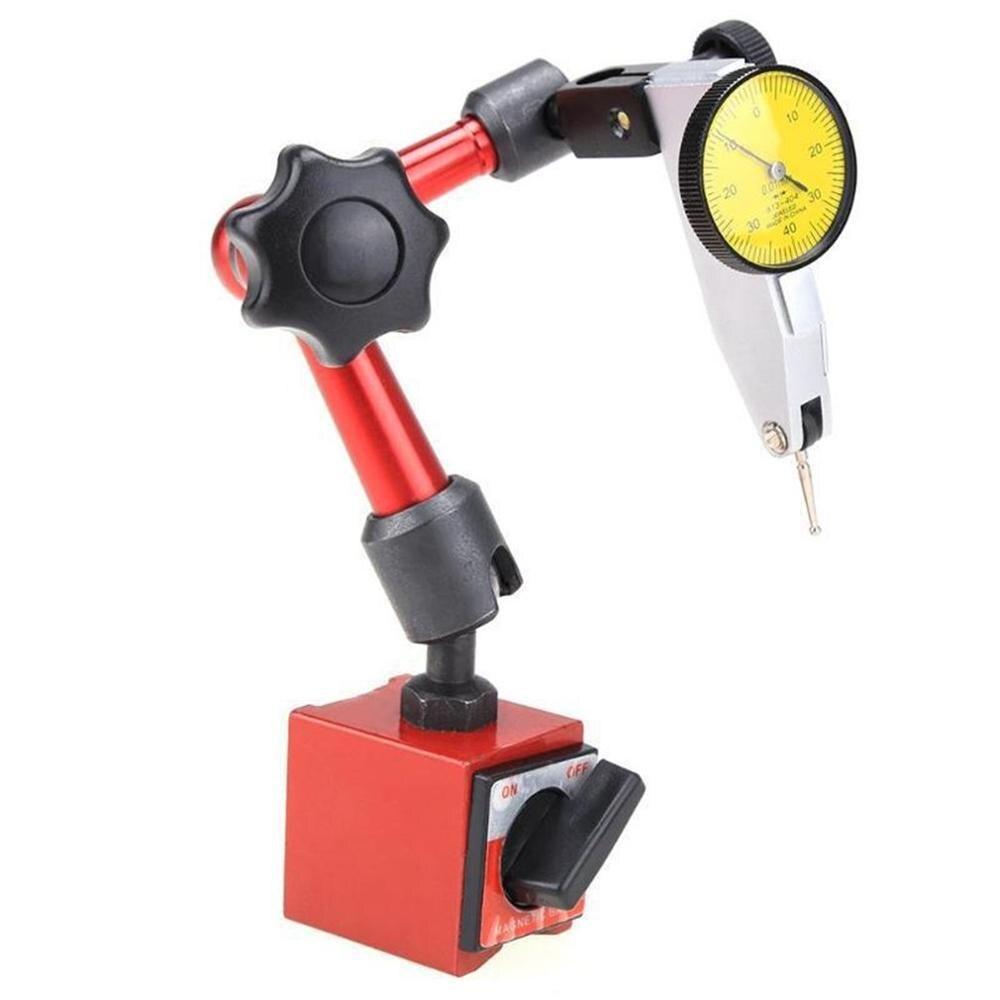 Mini soporte de Base magnética Universal, indicador de corrección de asiento de mesa, herramienta de indicador de soporte, indicador de prueba de esfera Flexible