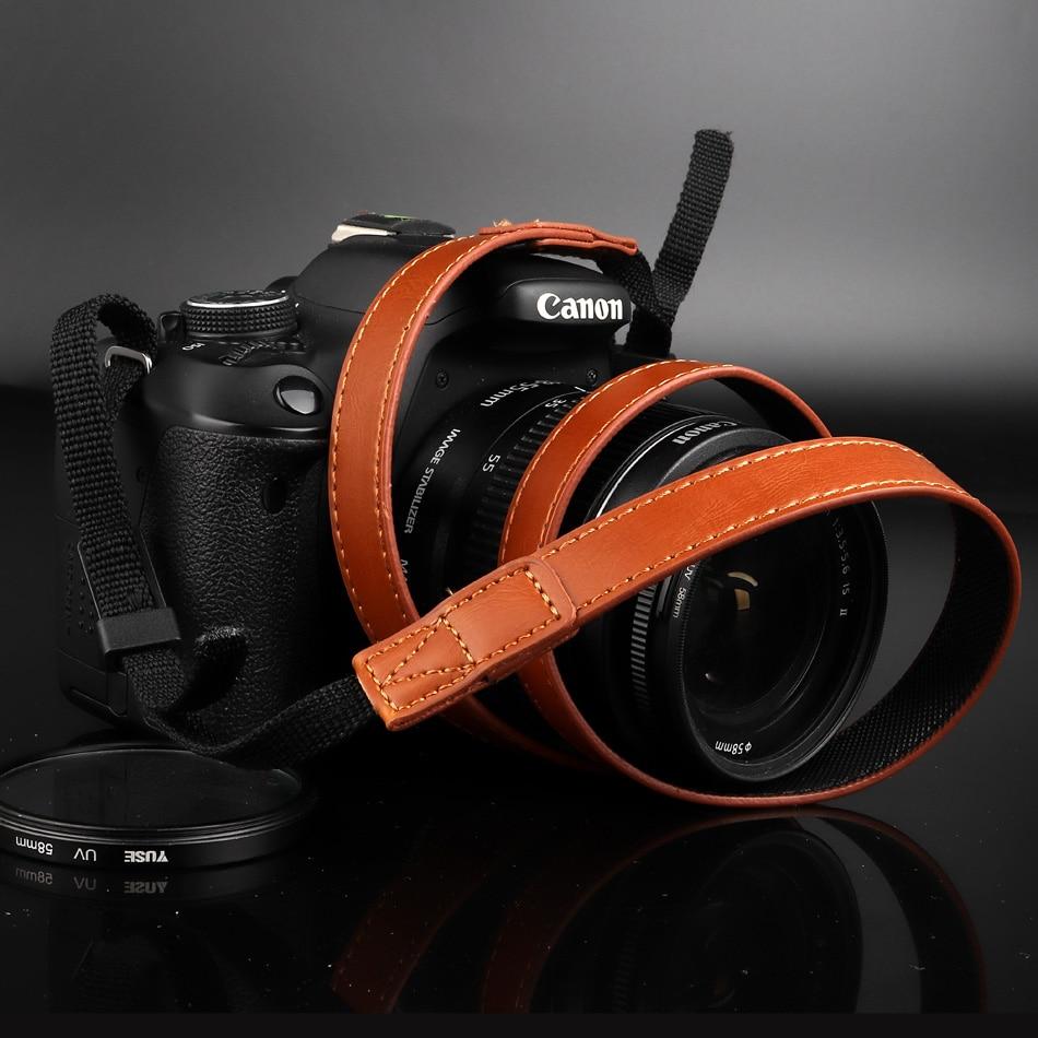 بو الجلود كاميرا حزام الكتف الرقبة حزام لسامسونج NX3000 NX2000 NX1000 NX1100 WB1100F WB1100 WB2100 NX300M NX300 NX20 NX1