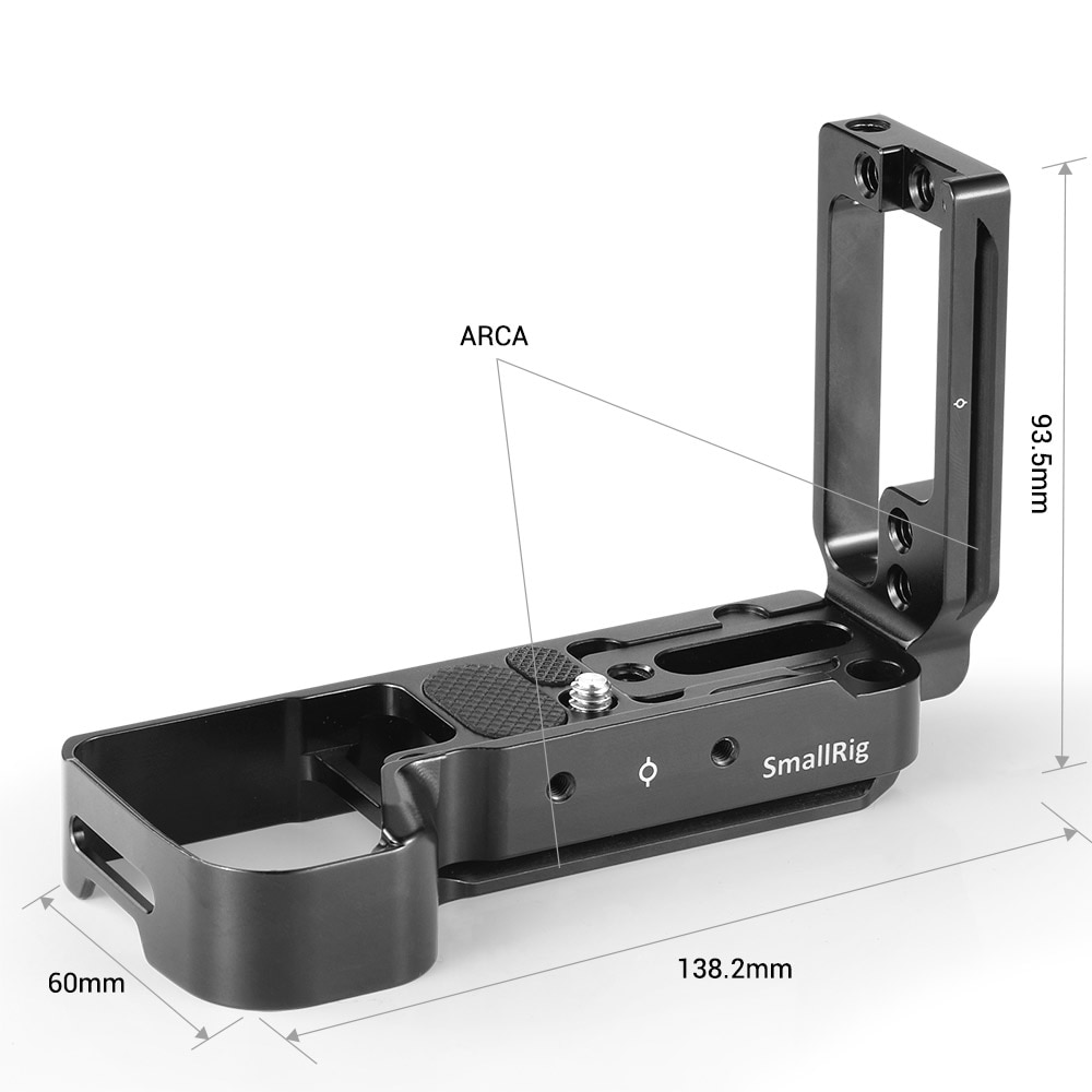 SmallRig A73 L Plate for Sony A7M3 A7R3 L-Bracket for Sony A7III / A7RIII / A9 Feature With Quick Release Sony Accessories 2122 enlarge