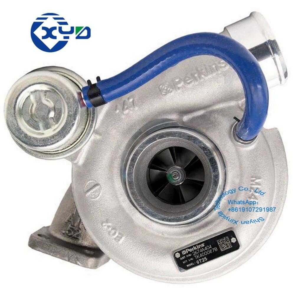Турбокомпрессор XINYIDA GT2556S 2674A404 для промышленного генератора