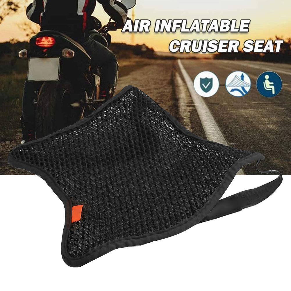 Summer Motorcycle Breathable Cool Sunproof Seat Cushion Covers Heat Insulation Mounting Airs Pad Motorbike Seat Protection Tools