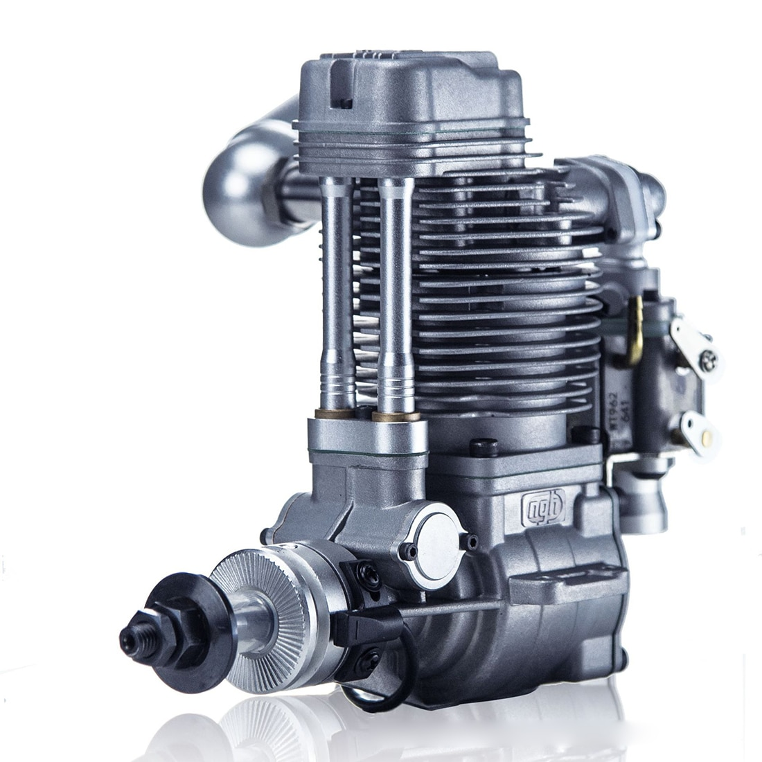 Motor de gasolina NFSTRIKE Ngh GF30 de 30cc de un solo cilindro y cuatro tiempos refrigerado por aire para accesorios de motor de Drone de ala fija