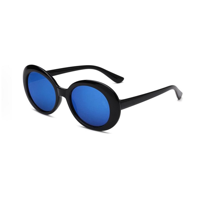 Vintage Oval Sunglasses Round Women Men Classic Eyewear Accessories UV400 Sun Glasses For Women Shad
