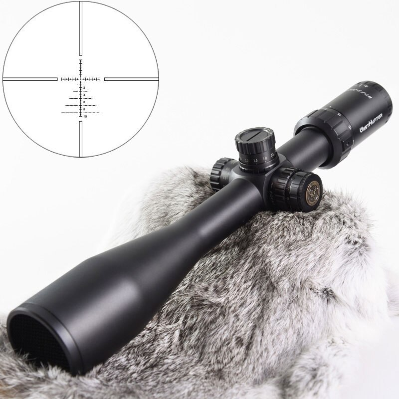 WESTHUNTER WT-F 5-20X50SFIR Riflescopes Hunting Scope Red Illuminated Shockproof 1/10MIL Rifle Scope Fit AR15 .233 .308