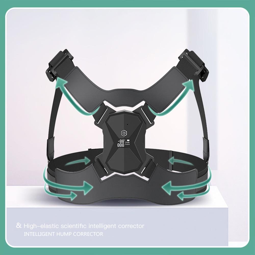 Electric Posture Corrector Back Brace Spine Stretcher Back Support Rechargeable Back Posture Correct