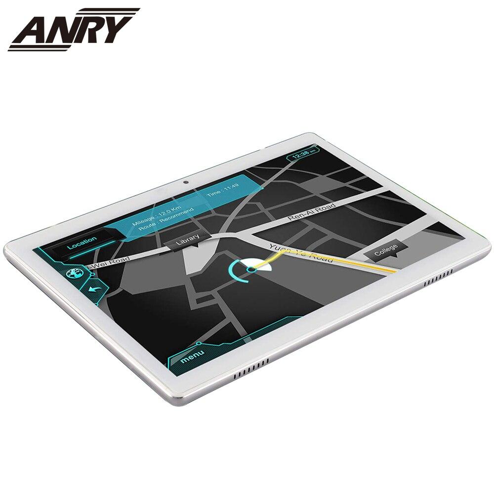 ANRY 3G telefon 10.1 Cal Tablet z androidem 5000mAh 16GB ROM ekran dotykowy Slim metalowe etui podwójna karta SIM IPS