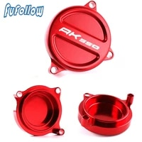 ak550 motorcycle scooter accessories for kymco ak550 ak 550 2017 2019 2020 2021 cnc front sprocket chain guard cover protector