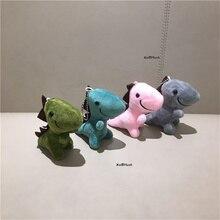 4 couleurs pour le choix-petit jouet en peluche de 6CM petit dinosaure, poupée douce porte-clés