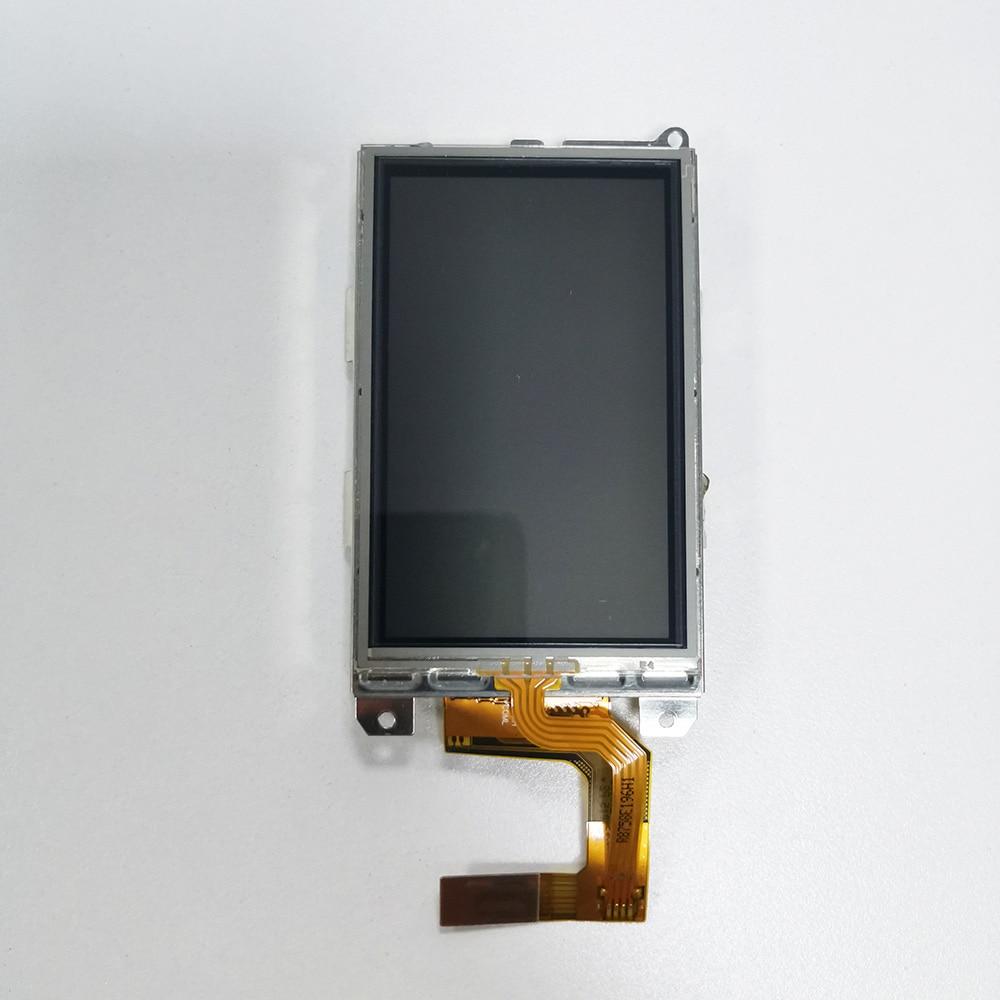 LCD مع شاشة تعمل باللمس للغارمين ألفا 100 LCD مع الإطار الأصلي LCD كاملة عرض شاشة كلب تعقب يده GPS أجزاء