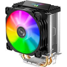Jonsbo CR-1200 CPU Kühler 2 Wärme Rohr Turm CPU Kühler RGB 3Pin Lüfter Kühlkörper Für Intel LGA 775 1150 1155 AMD AM2 AM3
