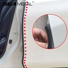 Car Door Rubber Strip Auto Rubber Sealing Stickers Interior Protector Sound Insulation Doors Pillar Seal Filler Auto Accessories