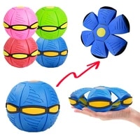 flying ufo flat throw disc ball with fancy soft novelty toy kid outdoor garden beach basketball game childrens sports balls