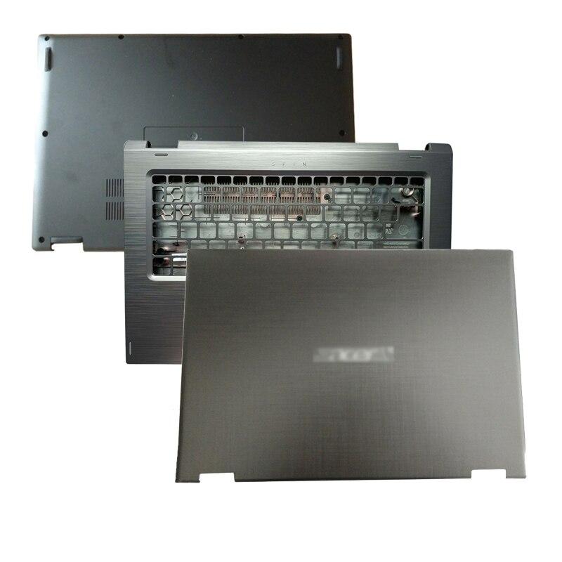 جديد المحمول LCD الغلاف الخلفي/Palmrest/أسفل حالة لشركة أيسر تدور 3 SP314-51 SP314-52 14 بوصة فليب اللمس النسخة