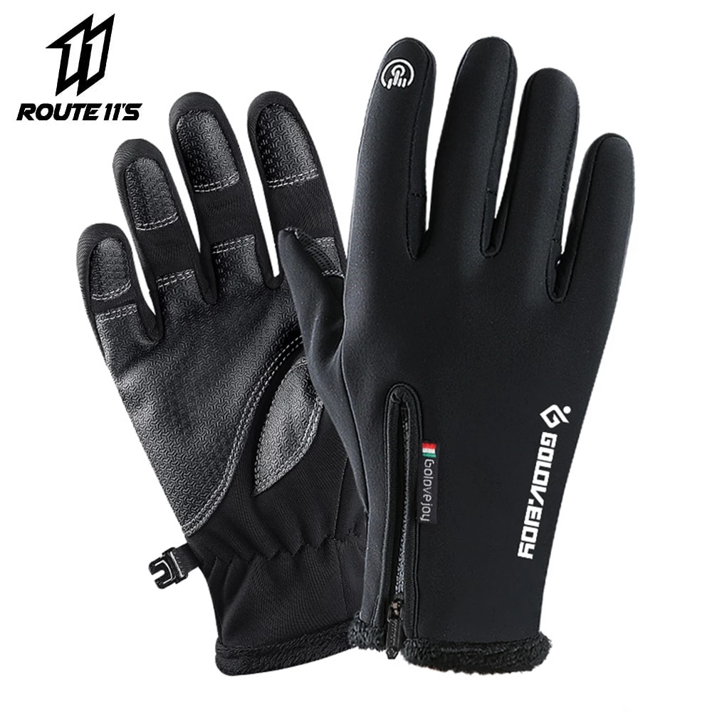 aliexpress - Motorcycle Gloves Moto Gloves Winter Thermal Fleece Lined Winter Water Resistant Touch Screen Non-slip Motorbike Riding Gloves #