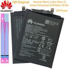 Batterie de téléphone dorigine Hua Wei HB356687ECW pour Huawei Nova 2 plus / Nova 2i / G10 / Mate 10 Lite 3340mAh Batteries de remplacement