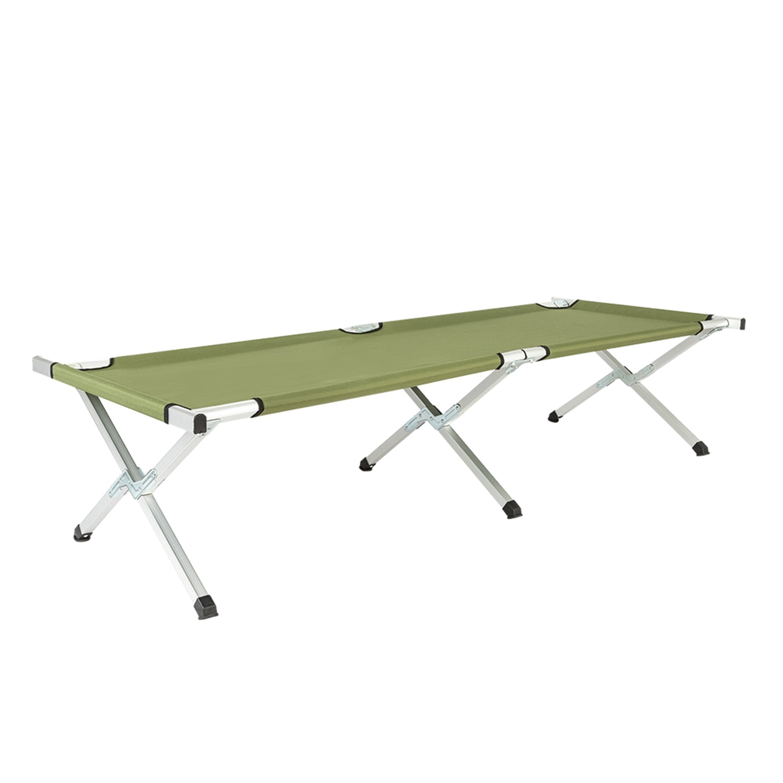 Outdoor Portable Folding Camp Cot Camping Equipment Sleeping Bed Camping Picnic Hiking Ultralight Tent Car Simple Single Bed