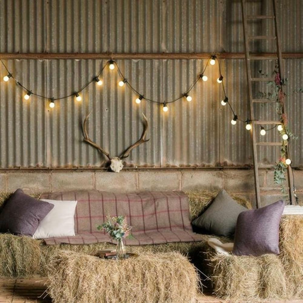 23 متر 25 LED اكليل أضواء لمبة سلسلة الجنية أضواء للاتصال مع باهتة في الهواء الطلق Wateproof عيد الميلاد حفل زفاف الديكور