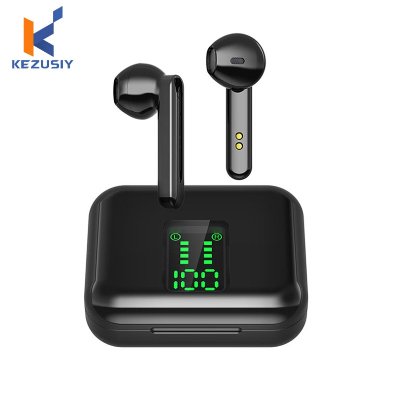 TWS Bluetooth 5.0 Wireless Headphones Wireless Bluetooth Earphone With Mic Sports Headsets Touch Con