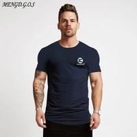 fashion mens white t shirt 2019 summer mens casual sportswear mens fitness t shirt jogger bodybuilding short sleeved shirt