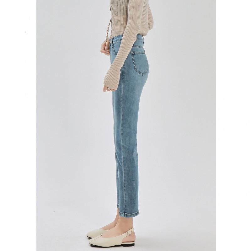 2021 سراويلي حريمي جينز عتيق بخصر عالٍ للنساء أصدقائهن جينز للسيدات جينز كامل الطول للأمهات بنطال جينز كاوبوي من قماش الدنيم Vaqueros Mujer