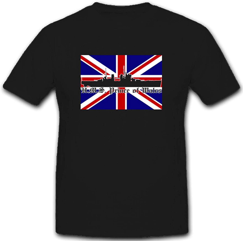 Мужские футболки в стиле милитари времен Второй мировой войны, Королевский флот, английский флот, линкор, повседневные мужские футболки из ...