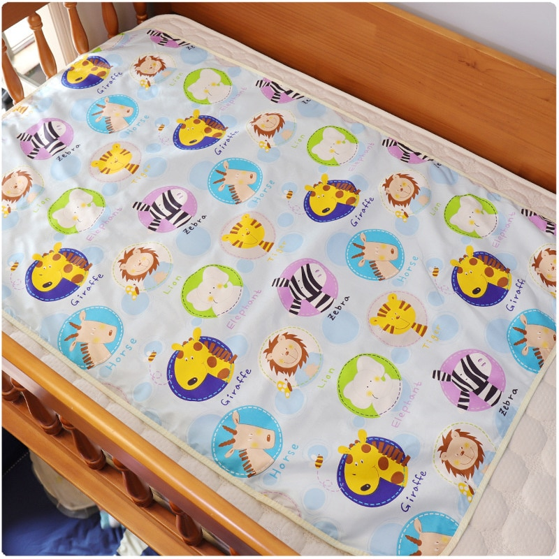 Travel Nappy Diaper Changing Mat 75*120 Cm /60*90 Cm Washable Newborn Baby Nappy Mat Pad Urine Isolation Sheet Toddler Mattress