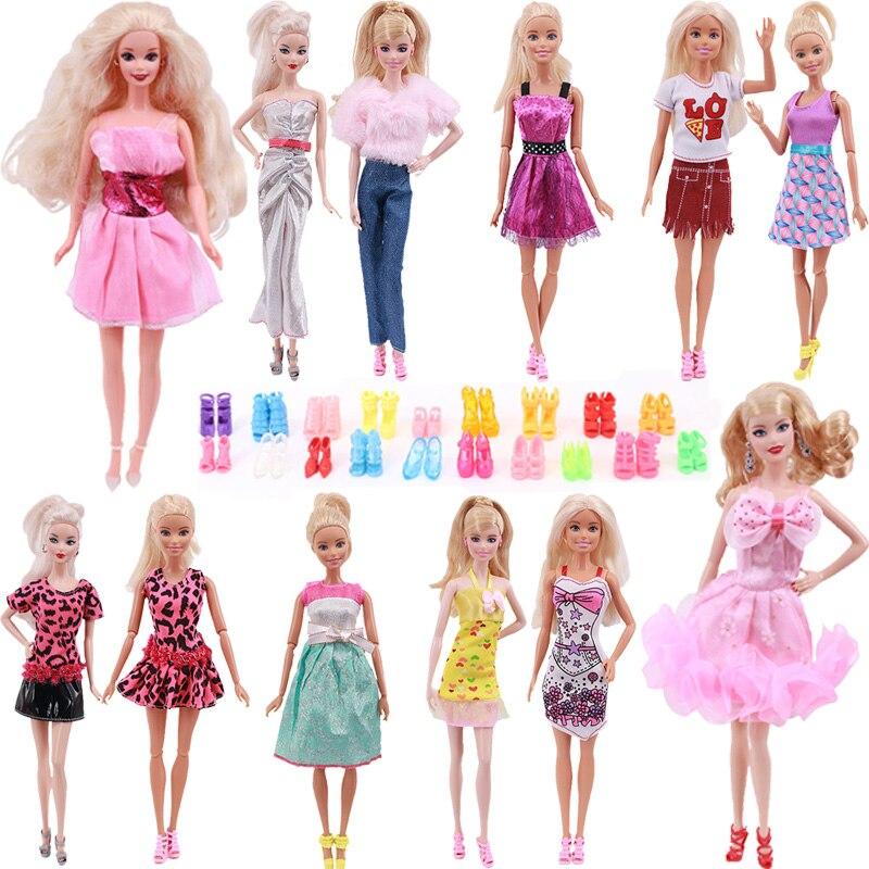 В виде бабочек, новинка, 12 Стиль кукольная одежда с принтом юбки для куклы-Барби купить 12 шт./лот одежды и получить пакет (20 пар) в кукольном ст...
