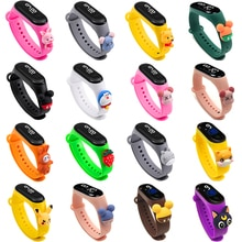 Children Watches LED Digital Wrist Watch Kids Outdoor Sports Watch for Boys Girls Electronic Date 50