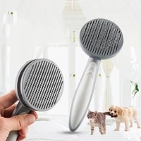 cat and dog grooming comb pet effective massage dog comb cleaning dusting brush cat and dog trimming fur comb brush pet supplies