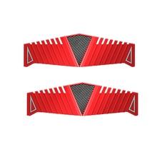DDR2 DDR3 DDR4 RAM 방열판 라디에이터 냉각기 냉각 방열판 40x126mm 데스크탑 메모리 용 빨간색 열 방출 패드