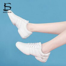 Children's Sneakers Kids Competitive Aerobics Shoes Soft Bottom Fitness Sports Shoes Women Girls Jaz