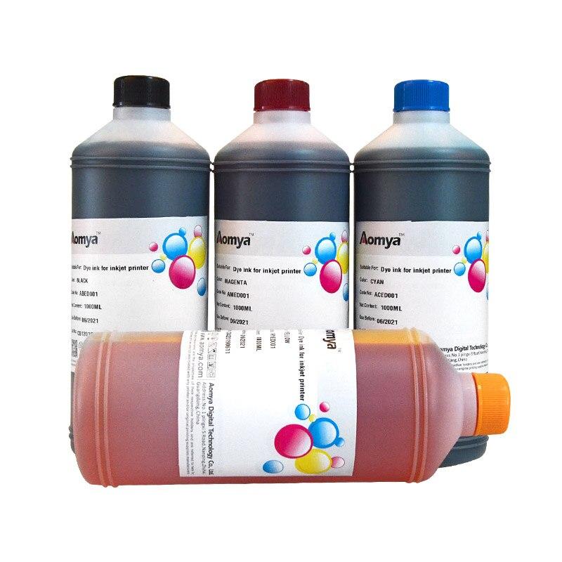 1000ml x 4 cores de alta qualidade lc12/lc73/lc75/lc40/lc400/lc1240 tinta corante para o irmão MFC-J6510DW/j6710dw para reencher a tinta