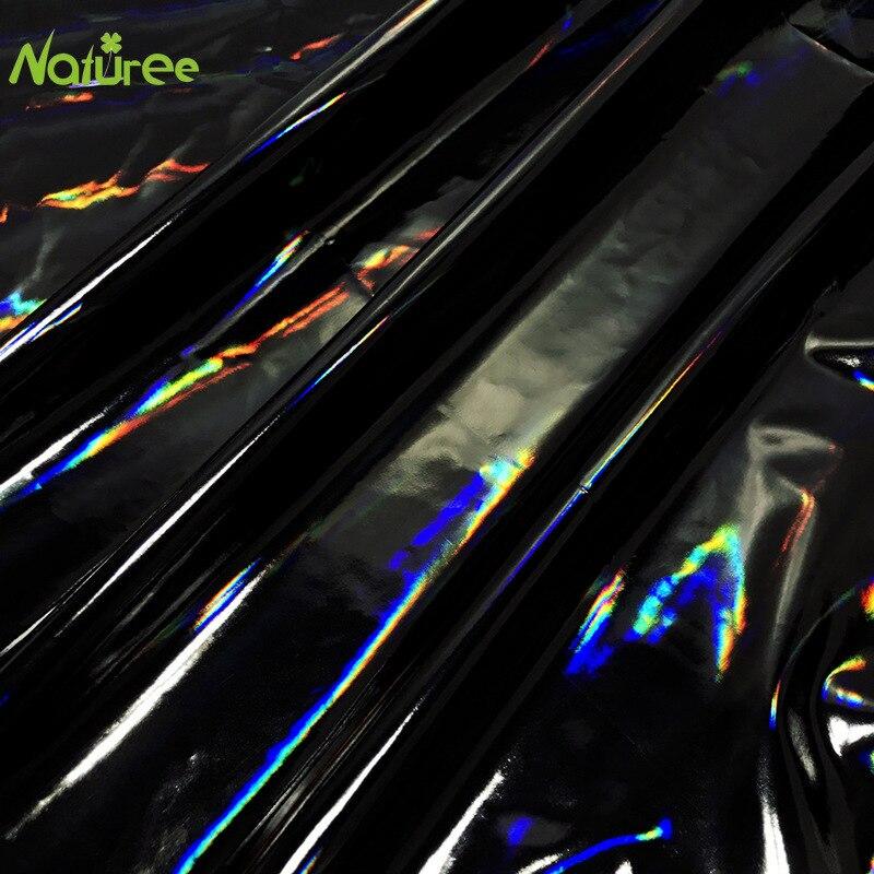 Tela colorida colorida do revestimento do laser da cor mágica preta do filme do plutônio do destaque da tela da cor mágica da fora-cor de 150cm * 100cm