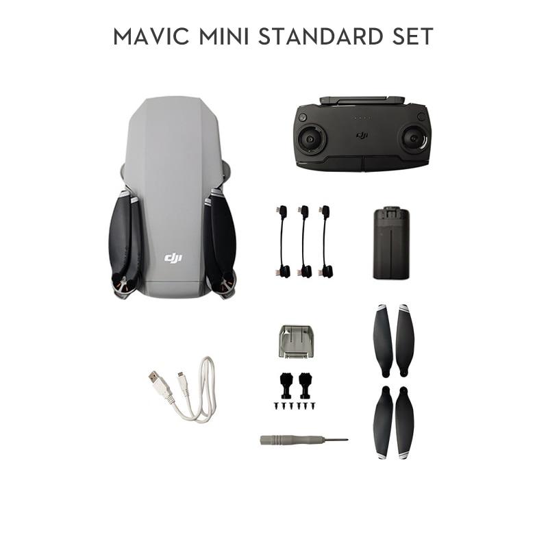 DJI Mavic Mini drone is MT1SS5 FCC version with 2.7k camera flight time 30 minutes weight 249g original in stocK