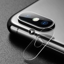For IPhone X 7/8Plus Rear Camera Lens Tempered Glass HD Film Protector Mini Lens Protective Ultra-th