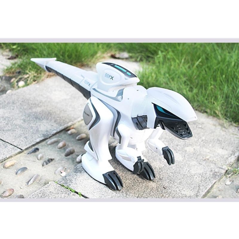 High Simulation Dinosaur Intelligent Pet Robot  71cm Large Touch Sensor Remote Control Sining Dance Walking Program Shake   Head enlarge