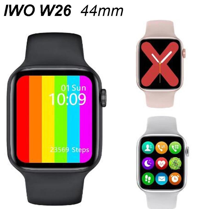 2021 New W26 Smart Watch Men/Women ECG Heart Rate/Blood Pressure Monitor Clock Bluetooth Call Smartw