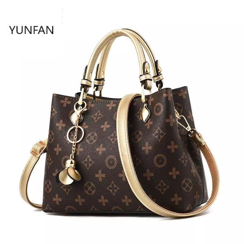 2020 Female Tote Bag Designers Luxury Handbags Printed Bucket simple women bag  Famous Brand Shoulder Bag