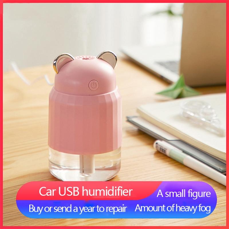 Eloole 280ml portátil mini usb umidificador de ar do carro máquina scented atomizador névoa difusor ar purificado pulverizador fino para casa carro